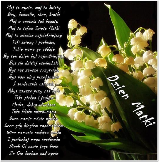 26 Maja Konwalie Wierszyk życzenia Na Dzień Matki