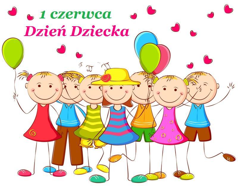 Uśmiechnięte dzieci 1 czerwca Dzień Dziecka - Gify i obrazki na ...