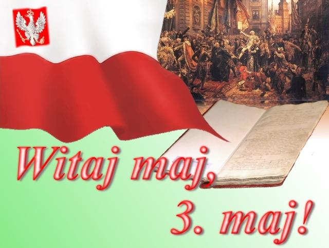 Witaj 3 maj - Gify i obrazki na GifyAgusi.pl