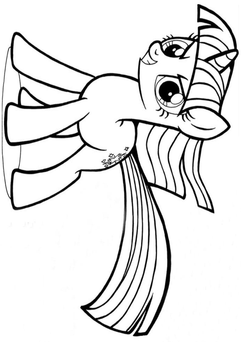 Kolorowanka Twilight Sparkle Smiejaca Sie Kolorowanki My Little Pony Gifyagusi Pl